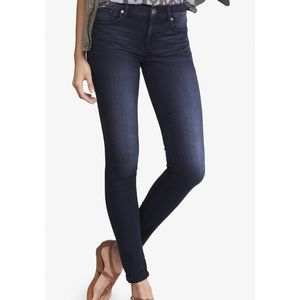 0 LONG EXPRESS MID RISE SUPERSOFT JEAN LEGGINGS